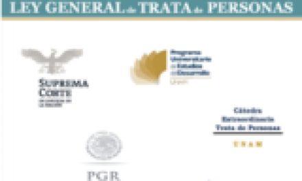Foro de Análisis «Retos para la implementación de la Ley General en materia de Trata de Personas»