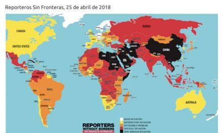 México, el país «sin guerra» más mortífero para periodistas