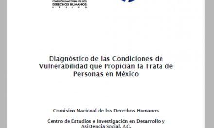 Diagnóstico de las condiciones de vulnerabilidad que propician la Trata de Personas