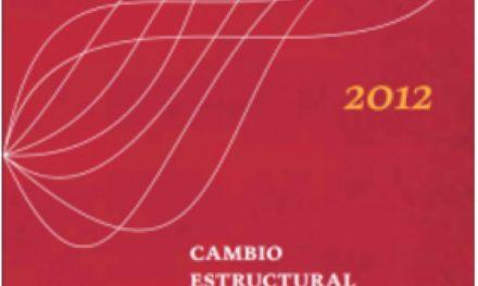 Cambio estructural 2012