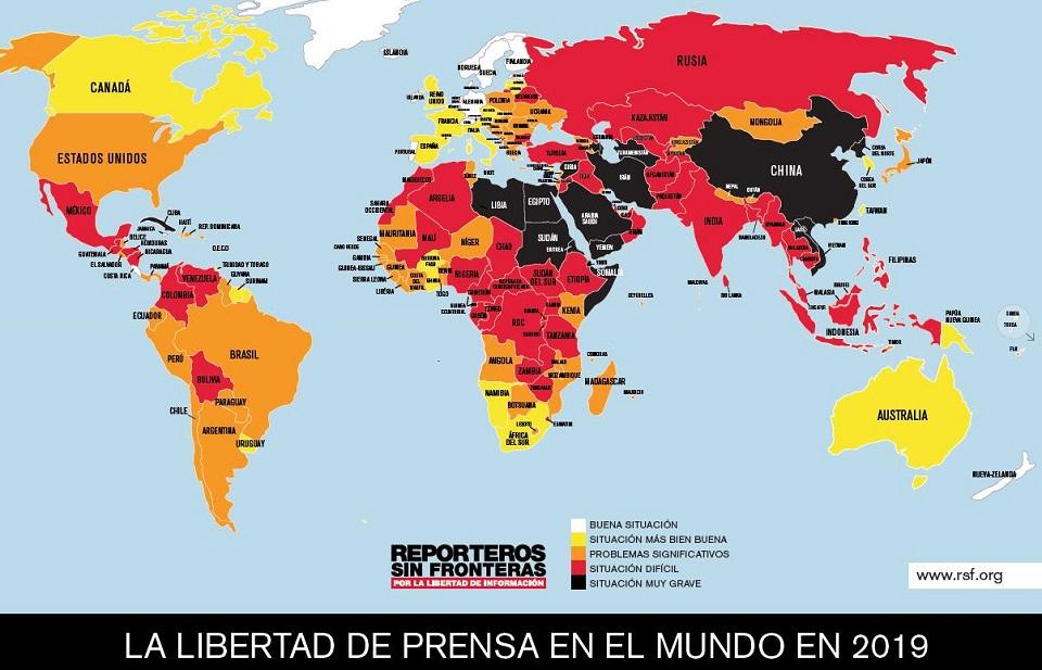 México continúa como uno de los países más peligrosos del mundo para el periodismo