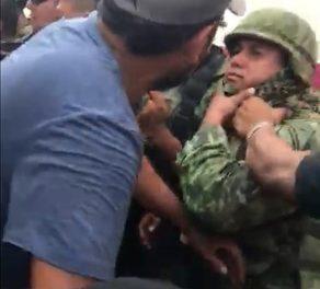 Agresiones a militares en Michoacán; una violencia inadmisible