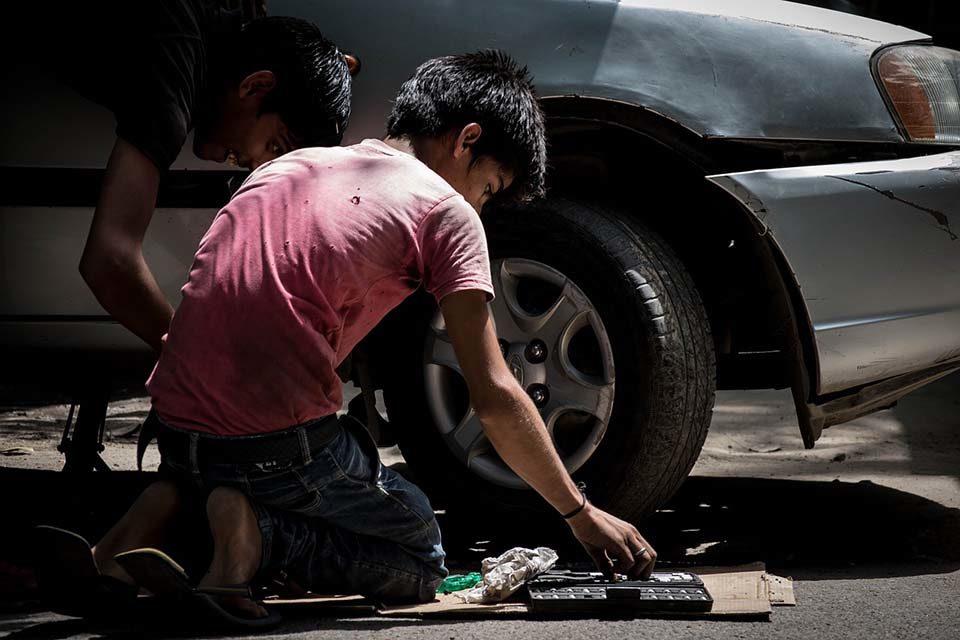 La crudeza del trabajo infantil