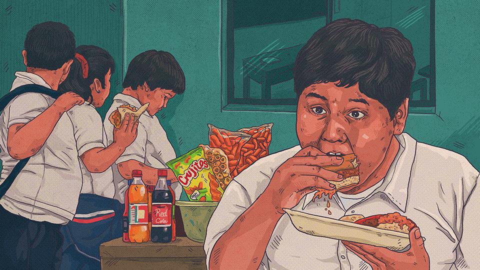 Una fábrica de niños con obesidad