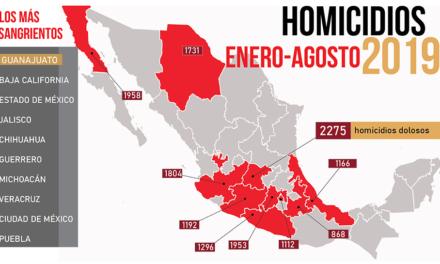 «Los relámpagos de agosto». Los cadáveres se apilan y Guanajuato se consolida en la cima de la lista negra