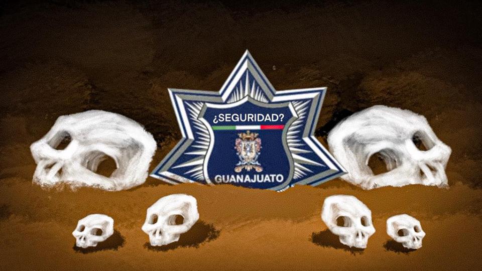Van 48 policías asesinados en 2019 en Guanajuato, que se perfila para otro récord negro