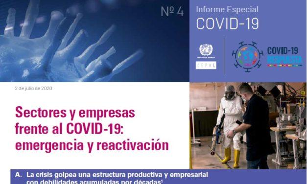 Impacto de la COVID19 afectará a un tercio del empleo y un cuarto del PIB de América Latina