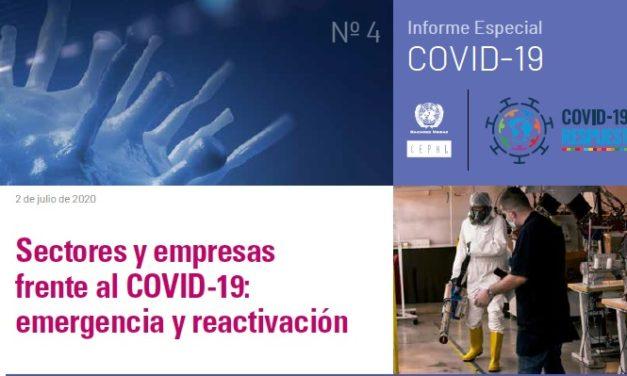 Los sectores y empresas más afectados por la COVID19: CEPAL