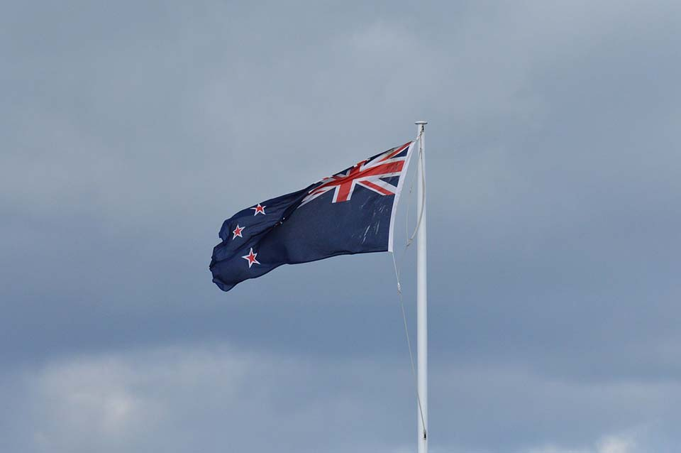 Nueva Zelandia, bandera