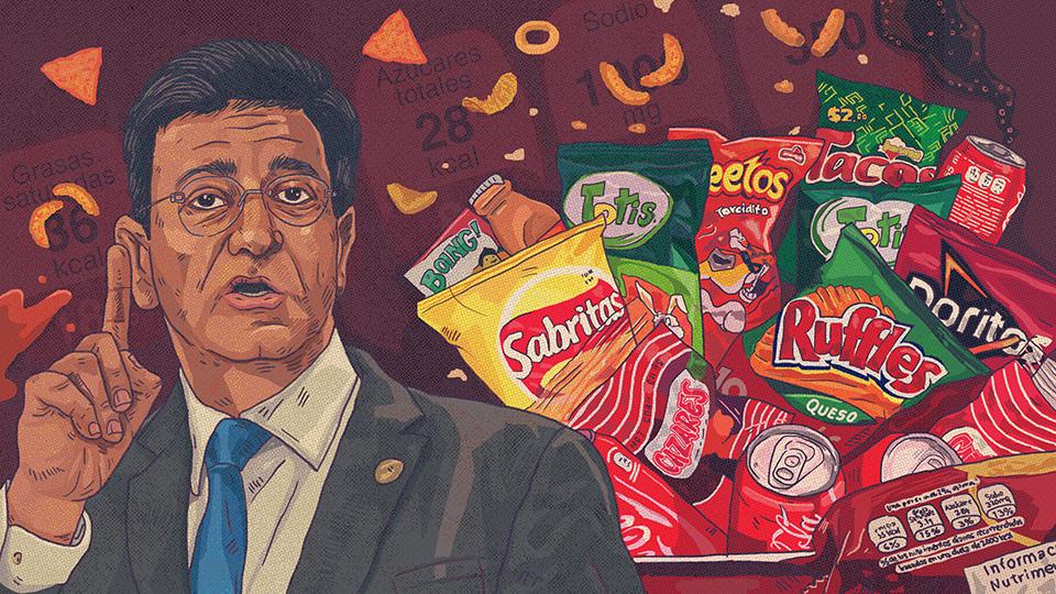 Pablo Kuri Morales, etiquetado de alimentos